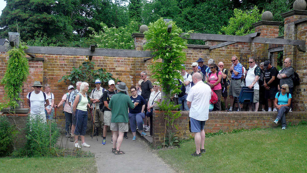 walled orchard