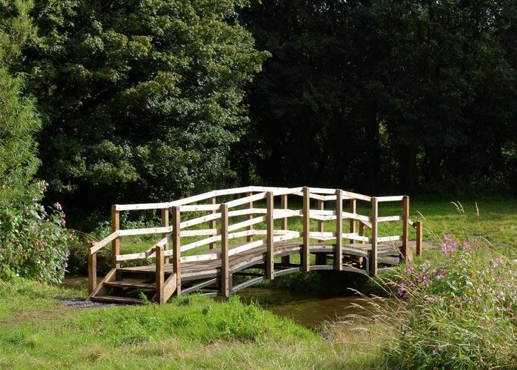 Bridge at Cuerden Valley Park